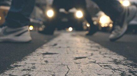 В Воронеже сбили переходившую дорогу 12-летнюю школьницу