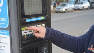 Воронежских автомобилистов попросили «будить» паркоматы перед использованием