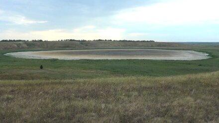 В Воронежской области пересохло особо охраняемое озеро Бабье