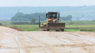 В Воронежской области строительство дороги в обход Боброва закончат раньше срока