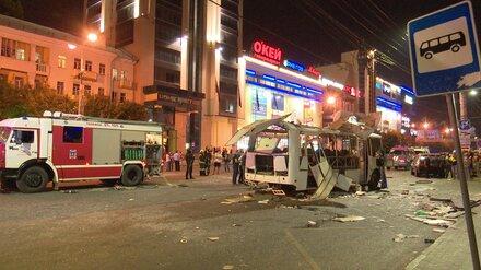 Владелица взорвавшегося в Воронеже автобуса заявила о его исправности