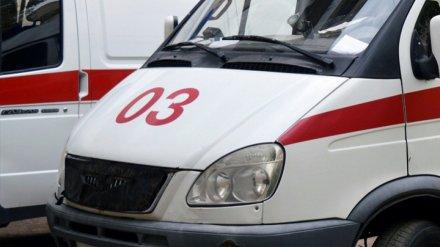 В Воронежской области в столкновении «семёрки» и кроссовера пострадала женщина
