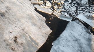 В Воронеже мужчина провалился под лёд водохранилища