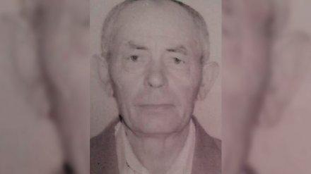 В Воронежской области ищут пропавшего 79-летнего пенсионера