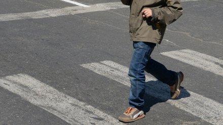 В Воронеже иномарка сбила 11-летнего мальчика на пешеходном переходе