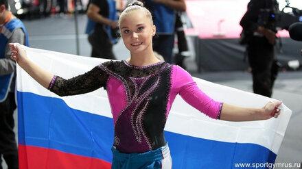 Воронежскую гимнастку Ангелину Мельникову номинировали на звание спортсменки года