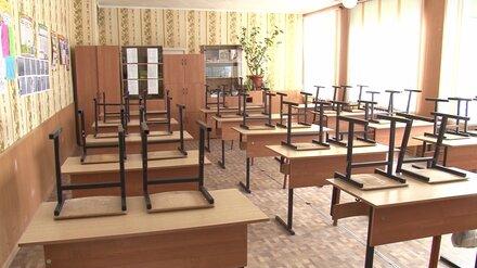 Школу в Воронеже закрыли из-за аварийного состояния