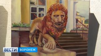 Французские художники представили воронежцам своё видение исторических пейзажей России