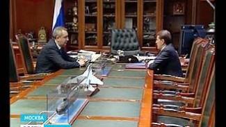 В Москве состоялась рабочая встреча губернатора Алексея Гордеева и вице-премьера Дмитрия Рогозина