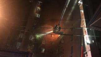 Из воронежского общежития во время пожара эвакуировали 68 человек