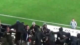 Появилось видео нападения на фанатов воронежского «Факела» на Кипре