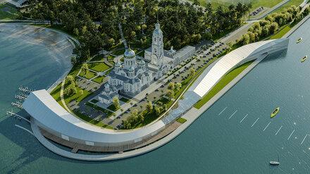 Современная набережная с амфитеатром на Левом берегу Воронежа появится к 2025 году