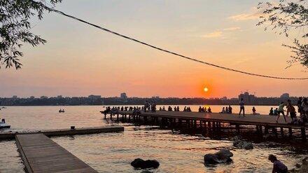 Сроки обновления парка «Дельфин» в Воронеже сдвинули до конца осени