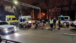 В Воронеже после ДТП с 4 погибшими на Московском проспекте возбудили уголовное дело