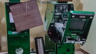В Воронеже на видео попал подрыв банкомата