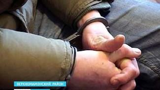 В Верхнем Мамоне задержали банду грабителей
