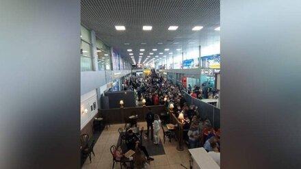 Воронежцы устроили давку в ожившем после пандемии аэропорту