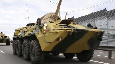 Воронежцев предупредили о передвижении военной техники по дорогам