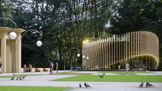 На месте заброшенного здания в Центральном парке Воронежа построят 2-этажный ресторан