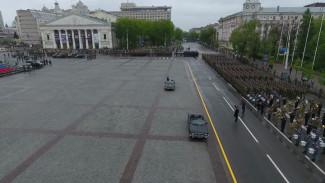 На репетиции Парада Победы в Воронеже впервые показали новейший комплекс «Палантин»