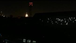 Из-за скачка напряжения центр Воронежа остался без света: остановили футбольный матч