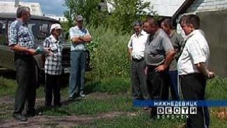 В новом микрорайоне Нижнедевицка по-прежнему нет газа
