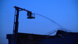 Спасатели рассказали о трудностях при тушении распределительного центра «Магнита» под Воронежем