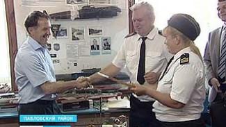 Губернатор Алексей Гордеев побывал в Павловске с рабочей поездкой