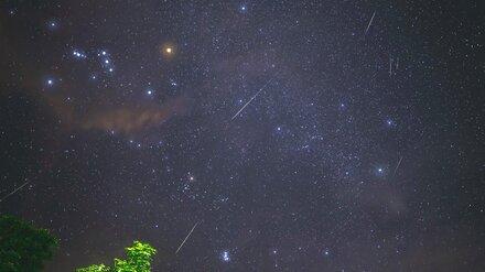 В октябре воронежцы смогут увидеть звёздный дождь