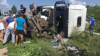 В Воронежской области в ДТП с автоцистерной погибли два человека