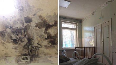 Врачи прокомментировали фото ужасного ремонта в больнице под Воронежем