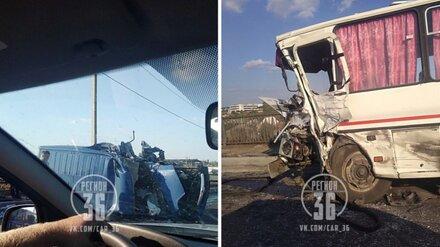 В больнице Воронежской области скончался водитель микроавтобуса, столкнувшегося с «ПАЗом»