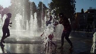 Воронежцам напомнили график работы «сухого» фонтана на Советской площади