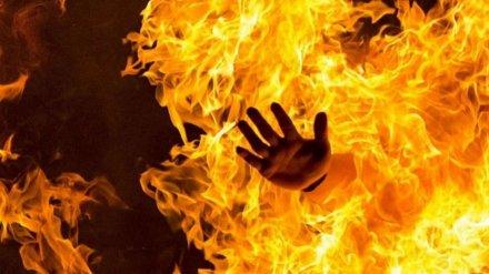 В Воронеже неизвестные подожгли бездомного мужчину