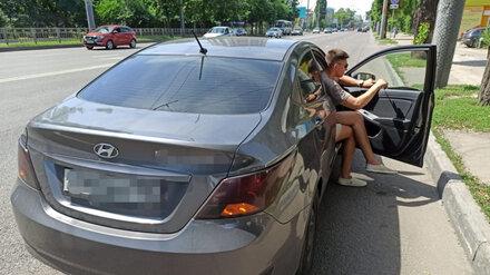 В Воронеже 24-летнего водителя арестовали из-за тонированного авто