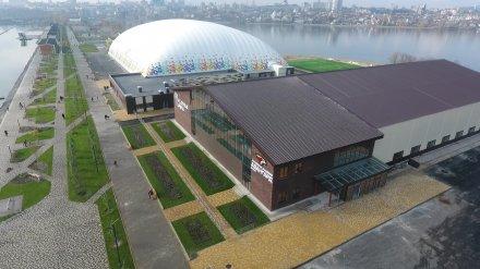Двухэтажную ледовую арену в Воронеже пообещали открыть до конца осени