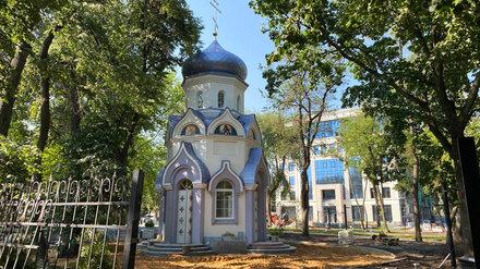 В Воронеже достроили часовню по проекту отсидевшего за взятки экс-главного архитектора