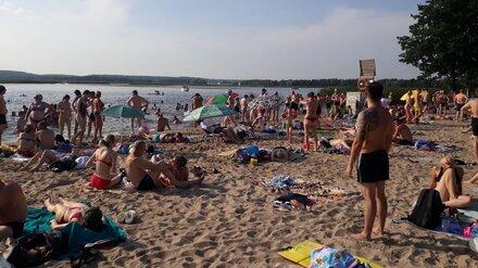 Воронежские пляжи поставили рекорды посещаемости в аномально жаркие выходные