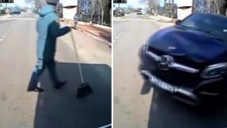 Мама спасёт? Почему наезд Mercedes на курсанта в Воронеже получил огласку лишь через 8 дней