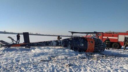 Упавший под Воронежем вертолёт принадлежит молочному холдингу «Молвест»