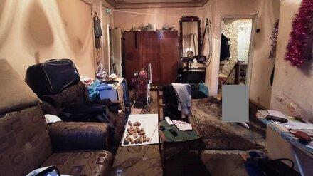 СК показал фото с места кровавой разборки в Воронеже