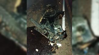 На трассе в Воронежской области мотоциклист влетел под трактор