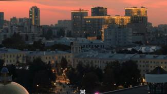 Завораживающее видео вечернего Воронежа опубликовали в сети