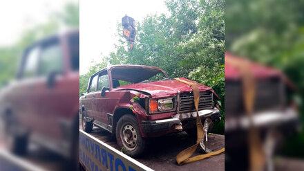Появилось фото последствий смертельного ДТП с «семёркой» в Воронежской области