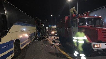 Медики: на месте ДТП с двумя пассажирскими автобусами скончался ещё один человек
