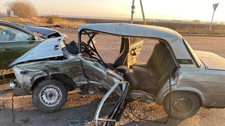 Пять человек пострадали в ДТП на перекрёстке под Воронежем