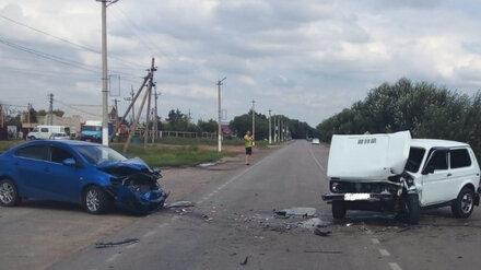 Пьяный водитель спровоцировал массовое ДТП с 3 пострадавшими в Воронежской области
