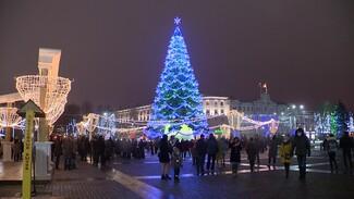 Власти Воронежа начали подготовку главной площади города к Новому году