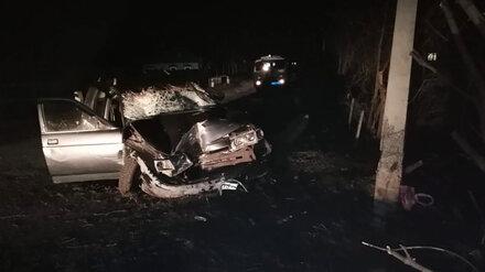 В Воронежской области автомобиль влетел в толпу пешеходов: двое погибли