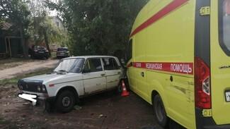 В Воронежской области при столкновении 4 машин погибла пассажирка скорой